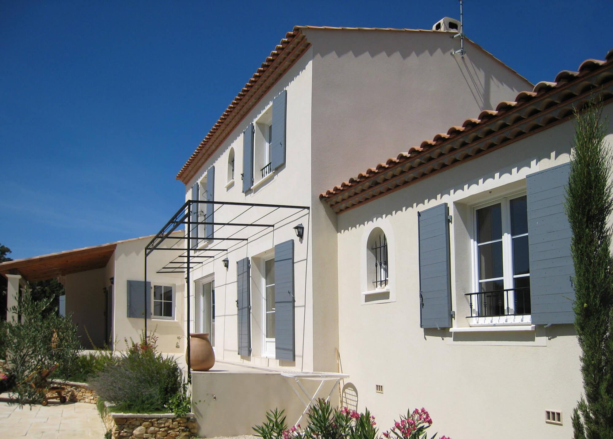Construction de bastide h rault mas occitan for Constructeur bastide