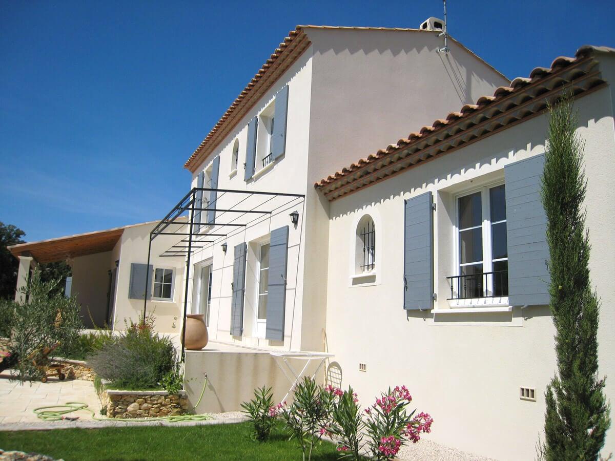 Une maison bastide construite par le Mas Occitan