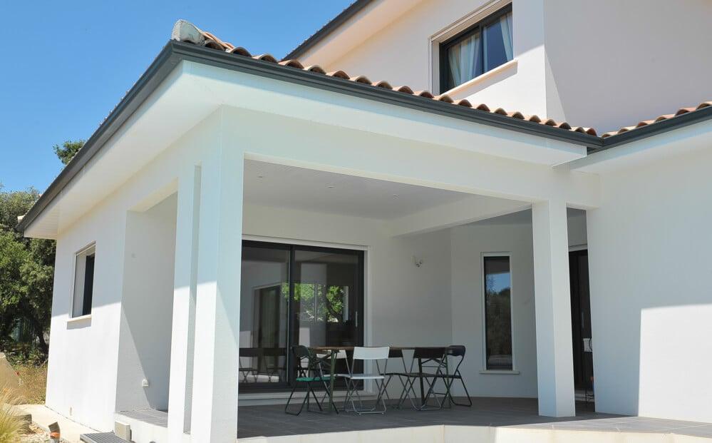 Construction de maison contemporaine Hérault   Mas Occitan