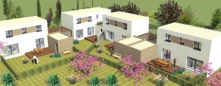 Projet Eco Quartier Des Pielles A Frontignan Mas Occitan